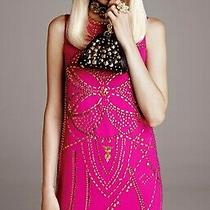 Nwt Versace for h&m. Women's Pink Gold Studded Dress. Sz. 2 Retai Price 199.00 Photo