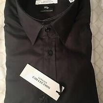Nwt Versace Men Dress Shirt Retail 295 Size 16.5 Photo