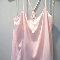 Nwt Victoria's Secret Juniors Microfiber Sleep Cami Blush Large Photo