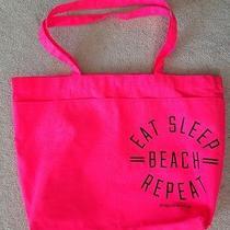 Nwt Victoria's Secret Pink Shopper Tote Bag Hot Pink Photo