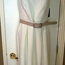 Nwt Vince Camuto Cream Dress Size 12    Very Nice  Photo