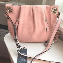 Nwt Vince Camuto Cris Crossbody Pebbled Leather Tassel Crossbody Bag Purse 138 Photo