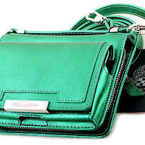 Nwt Vince Camuto Mila Leather Crossbody Phone Wallet on a String Spectra Green Photo