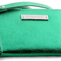 Nwt Vince Camuto Vivi Leather Zip Around Wristlet Indexer Wallet Spectra Green Photo