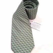 Nwt Vineyard Vines Beach Chair on Green 100% Silk Neck Tie Photo