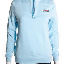 Nwt Vineyard Vines Dolphin Blue Cotton Whale Line Sweatshirt Jacket Sz Xs 125 Photo