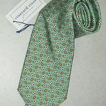Nwt Vineyard Vines  - Forbes Game Change (Soccer/footballs) Neck Tie Photo