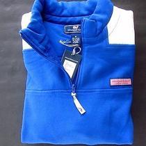 Nwt Vineyard Vines Men's 1/4 Zip Jersey Sailcloth Shep Shirt Sweatshirt Sweater Photo