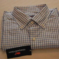 Nwt Vineyard Vines Men's Long Sleeve Sport Shirt Size M 16 - 34/35 Photo
