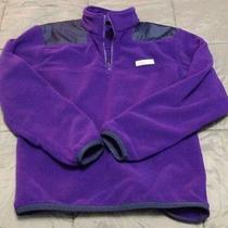 Nwt Vineyard Vines Mens Large Fleece Shep Shirt Purple 1/4 Zip  Photo