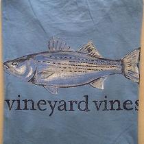 Nwt Vineyard Vines Short Sleeve Ss Graphic Pocket T-Shirt Tee Medium Med M Photo