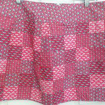 Nwt Vineyard Vines Size 16 Skirt Nautical Starfish Anchors Fish Patchwork 125 Photo