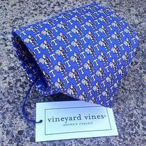 Nwt Vineyard Vines Trinity College Silk Neck Tie Photo