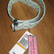Nwt Vineyard Vines Youth Classic D-Ring Belt in