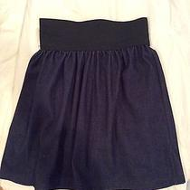 Nwt Vintage Havana Denim Elastic Band Skirt Size Small Photo