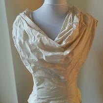 Nwt Vivienne Westwood Gold Label Kim Blouse Ivory Corset Top Uk 14 Us 12 Evening Photo