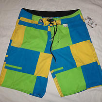 Nwt Volcom 34 Swim Board Shorts 21