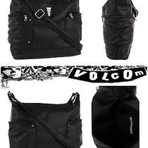 Nwt Volcom Game on Bag Black Colors Hand Bag Cross Body Rokcat Photo