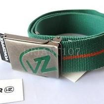 Nwt Von Zipper Mens Belt Mabtmfra Cotton Green 40 Photo