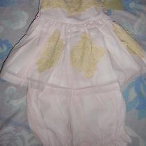Nwt Well Dressed Wolf  Day Dream Blush Top Bloomer Set Baby  Girl 24 M Free Ship Photo