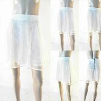 Nwt White Crow Sexy Tiffany Womens S Lace Party Flare Skater Skirt Whisper Chop Photo