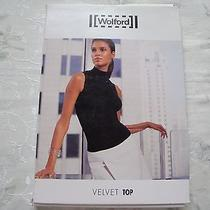 Nwt Wolford Velvet Top S Small 50951 Lacquer Photo