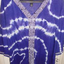 Nwt Woman's Inc Tunic.  Nwt and  Retails for 109.50.  1x--Hard to Find Photo
