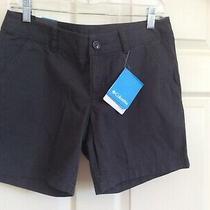 Nwt Womens Columbia Compass Ridge Cotton Shorts -Size 4 New Photo