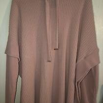 Nwt Womens Cupio Blush Hooded Sweater Dusty Pink Xl Soft Photo
