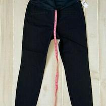 Nwt Women's Gap Maternity Black Skinny  Pants Size 12r  Photo