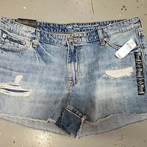 Nwt Women's Gap Sexy Boyfriend Distressed Look Shorts 14 / 32 Photo