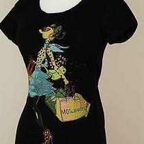 Nwt Women's Love Moschino Vogue Black 3d