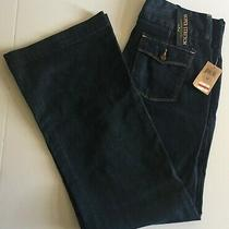 Nwt Women's Lucky Brand Boot Cut Blue Jeans - Size 29 - 32 X 33 - Super Stretch Photo