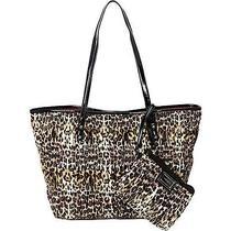 Nwt Women's Nine West Handbags Show Stopper  Wristlet Handbag Leopard  Print Photo