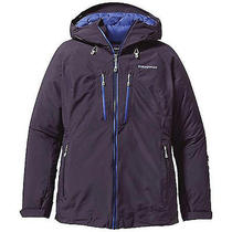 Nwt Women's Patagonia Primo Down Goretex Jacket  Graphite Navy Size Xl 650 Photo