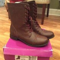 Nwt Women's Rampage Dark Brown Jiminy Boot Size 10 Style  334901 Quick Ship Photo