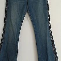 Nwt Women's Size 30 Blue Denim Jeans by Calvin Klein Choice Style  Photo