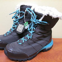 Nwt Women's Snowfall Omni Heat Womens Heated Boots Brown Winter Bl 3704-219 Photo