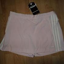 Nwt Womens Adidas Game Skort Light Pink Size Large L Photo