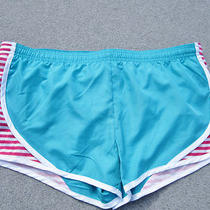 Nwt Womens Athletic Polyester Shorts So L Jrs Running Jogging Exercise Aqua Photo