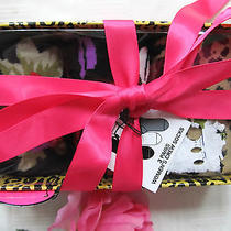 Nwt Womens Betsey Johnson Pink Animal Floral Socks O/s 3 Pair Photo