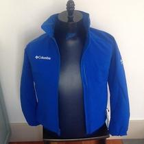 Nwt Womens Blue Columbia Media Softshell Spring Jacket 140 - Size Small Photo