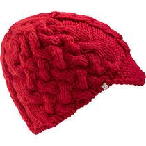 Nwt Womens Burton Breanie Beanie Hat Cable Knit Cerise Photo