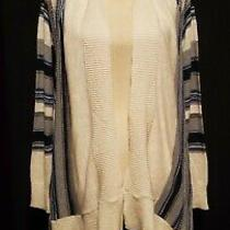 Nwt Womens Eddie Bauer Open Front Cardigan Sweater Xs/s Long Sleeve Multi Color Photo