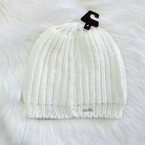 Nwt Womens Fossil Annie Hat in Whisper White Photo