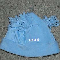 Nwt Womens Gap Performance Blue Fleece & Nylon Winter Hat Sz Small Photo