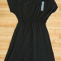 Nwt Womens Grace Elements Black Knit Dress Size Medium Nice Photo