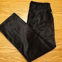 Nwt Womens Lucky Brand Pants Size 6 / 28 Ava Mid Rise Crop Mini Boot Navy Blue Photo