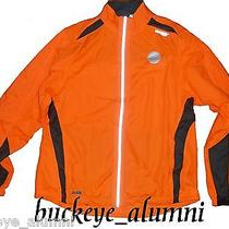 Nwt Womens Orange Saucony Sonic Hdx Vizipro Usb Flashing Led Jacket  Large Photo