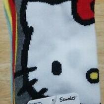 Nwt Womens Sanrio 6 Pair Hello Sanrio No-Show Socks Hello Kitty & Friends Multi Photo